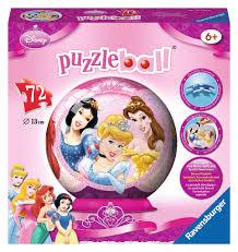 Disney Princess 3d Puzzle 72pc Fun Stuff Toys