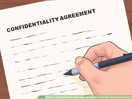 How To Understand The Structure Of A Simple Non Disclosure Agreement