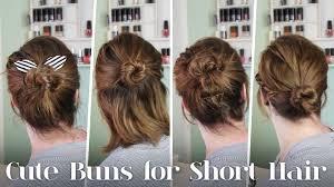Frisuren F R Kurze Haare 5 Dutt Varianten F R Kurze Haare Youtube