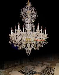 large crystal chandelier entrance hall lighting luxury light fashion chain chandeliers p rock linear strand extra foyer drop james moder modern round lamp
