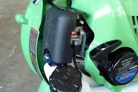 hitachi gas leaf blower. hitachi rb24eap 23.9cc 2-cycle gas powered 170 mph handheld leaf blower close-