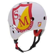 Protec S M Full Cut Certified Helmet White