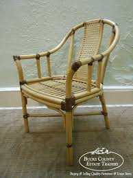 bamboo rattan chairs. Collection Of Solutions Drexel Heritage Quality Set 4 Bamboo Rattan Dining Arm Chairs Easy Chair