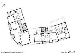 26 low energy public housing units and shops aea agence Low Energy House Plans Low Energy House Plans #24 low energy home plans