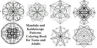 Amazoncom Mandala E Modelli Caleidoscopio Libro Da Colorare Per