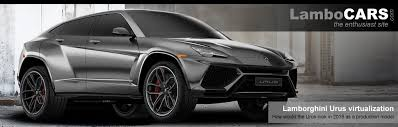2018 lamborghini italy.  2018 the 2018 lamborghini urus production version rendered heading inside lamborghini italy o