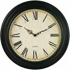 wall clocks large retro vintage style