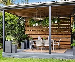 Small Picture Home Dzine Turn a carport into a stylish patio Whether you