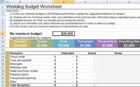 wedding spreadsheet wedding budget worksheet little wedding guide
