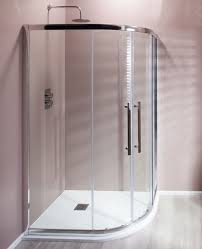 casie cass eight easy clean offset quadrant shower enclosure 8mm glass
