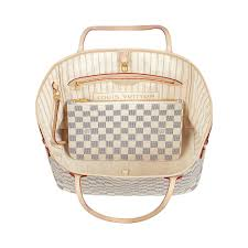 louis vuitton neverfull damier fake. neverfull mm damier azur in women\u0027s handbags collections by louis vuitton fake