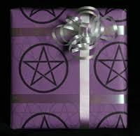 13 days of creepmas gothic gift wrap