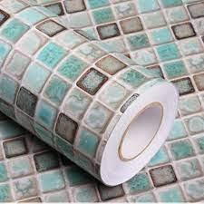 Buy Mosaic Adhesive Wallpaper Thick ...
