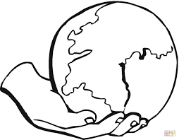 Small Picture Globe Coloring Pages Miakenasnet