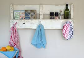 Make Your Own Coat Rack Make Your Own Reclaimed Wood Pallet Coat Rack and Shelf 56