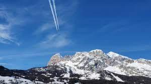 Le Frecce Tricolori in ricognizione per lo spettacolo di Cortina 2021 -  Corriere delle alpi