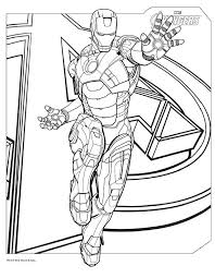 Marvel Printable Coloring Pages At Getdrawingscom Free For