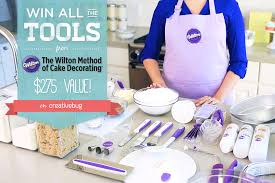 Wilton Cake Decorating Accessories Stunning Announcing The Wilton Cake Decorating Giveaway Creativebug Blog