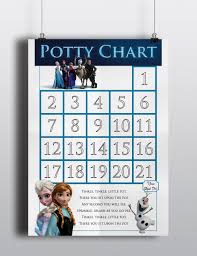 frozen elsa anna sven olof christoph potty training christoph potty training sticker chart 128270zoom