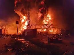 สรุป! เหตุการณ์และไทม์ไลน์ โรงงานกิ่งแก้วไฟไหม้ กินเวลา 27 ชม. กว่าเพลิงสงบ