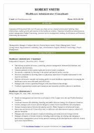 medical administration resume examples healthcare administrator resume samples qwikresume