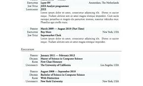 Perfect Resume Examples Adorable Free Resume Examples For Jobs With Resume Outlines Free Resume