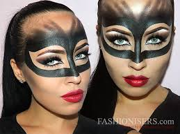 catwoman makeup tutorial for