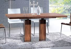 modern pedestal dining table the dining room charming modern dining room decoration with in pedestal dining modern pedestal dining table