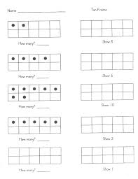 ten frame worksheets kindergarten free double for day 3 frames practice um size kinder free ten frame counting worksheets free ten frame worksheets
