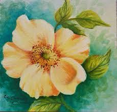 wild rose acrylic on