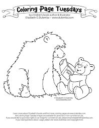 Small Picture Coloring Pages Of Bears Coloring Pages Gallery