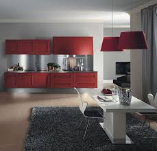 Red Kitchen Pendant Lights Kitchen Room 2017 Kitchens Remodeling Layouts Quirky Red Pendant