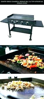 outdoor gourmet propane griddle flat top grill recipes commercial outdo