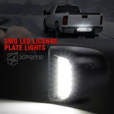 2018 Silverado License Plate Light Bulb Xprite White Led License Plate Light Assembly For 1999 2013 Chevrolet Silverado