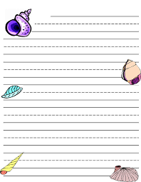 Lined Paper Pdf Inspiration Writing Paper Printable For Kids Kiddo Shelter