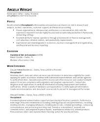 Entry Level Receptionist Resume Examples