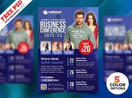 Business Conference Flyer Psd Templates Psdfreebies Com
