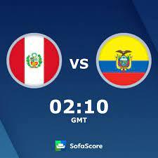 Peru U17 Ecuador U17 risultati, diretta streaming e pronostico - SofaScore