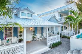 the exterior of cottage 1 at the gardens hotel in key west florida