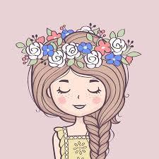 Cute Girl Cartoon Stock Photos And Images - 123RF