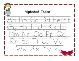 abc tracing sheet traceable alphabet for learning exercise dear joya kids activity
