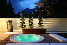An outdoor Jacuzzi tub is a great addition to your backyard if the climate  isn'