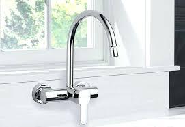 wall mount kitchen faucet single handle kitchen faucet jaguar lovely wall mount kitchen sink faucet single