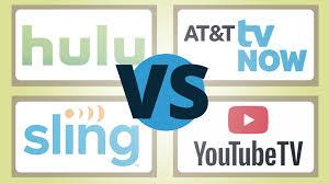 Hulu Live vs. YouTube TV vs. Sling vs. AT&T TV Now: Face-off ...