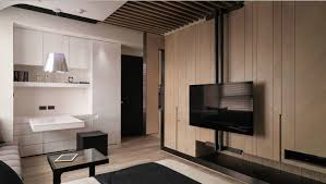 contemporary studio apartment design. A Tiny Taiwanese Apartment Small Layout Contemporary Studio Design H