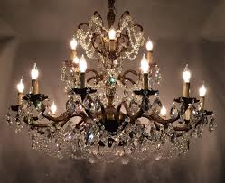 2018 crystal antique chandelier with candles view 2 of 20