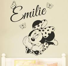cool minnie mouse wall stickers baby minnie mouse wall decals uslaceg