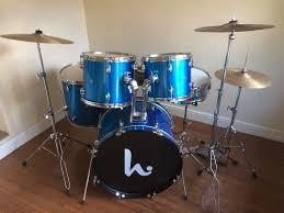 beginners drum kit complete reduced
