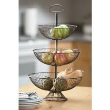 Decorative Wire Tray Violetta Gold Metal 100Tiered Tray Baskets Free Shipping Today 67