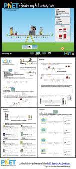 phet balancing act activity guide